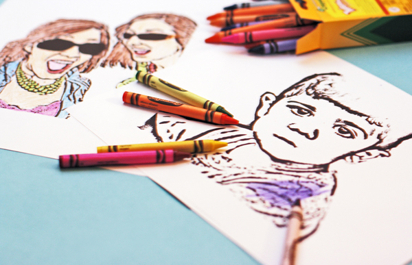custom coloring books - Custom Coloring Book