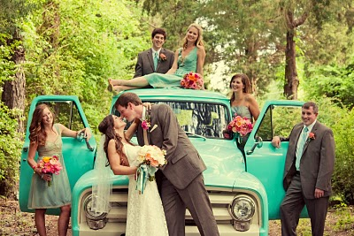 teal wedding inspiration