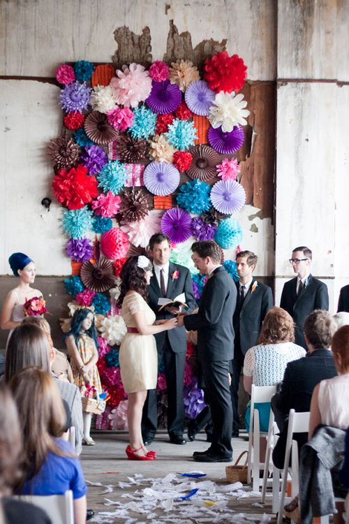 ceremony backdrop inspiration