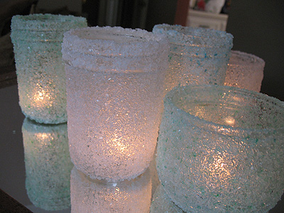 diy votive candle holders