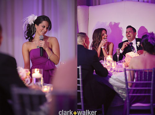 pink event lighting