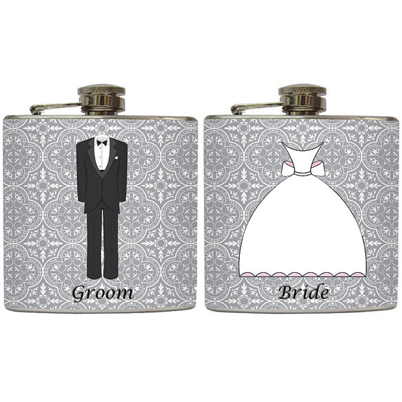 wedding flasks