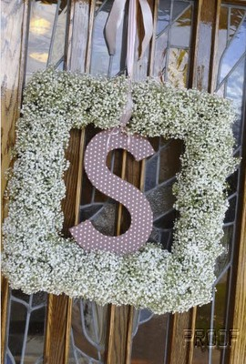 wedding monogram display