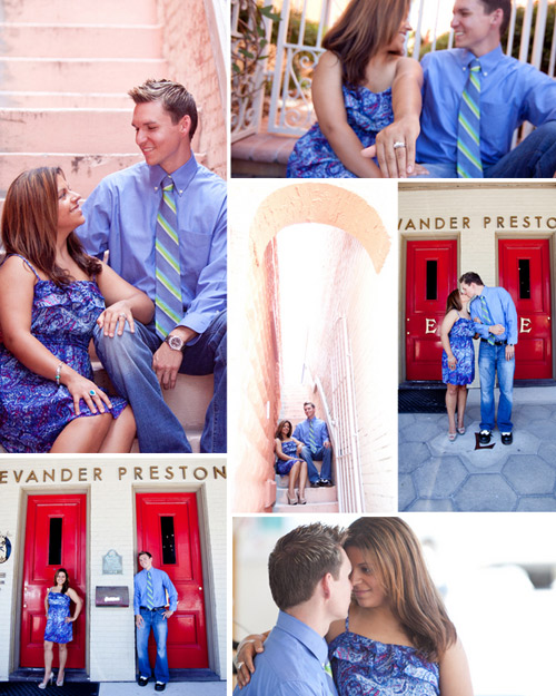 surprise proposal and engagement pictures