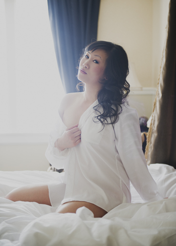 Victoria Boudoir Photo shoot