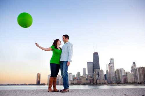 balloon engagement pictures