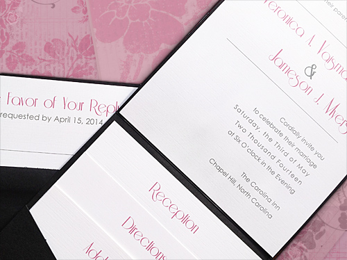 Pocket Fold Wedding Invitations DIY Tutorial Wedloft by WeddingWindowcom
