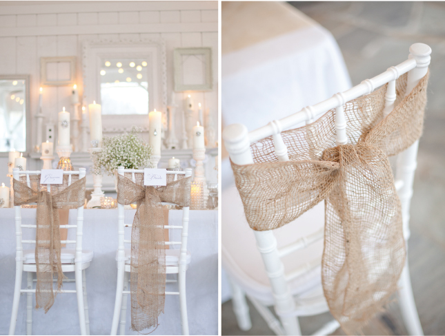 Wedding Inspiration: Chair Details!