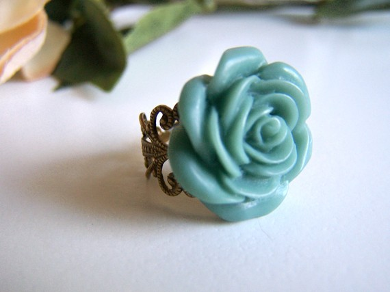 teal bridesmaid jewelry