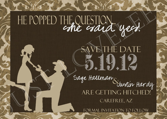 country theme save the date