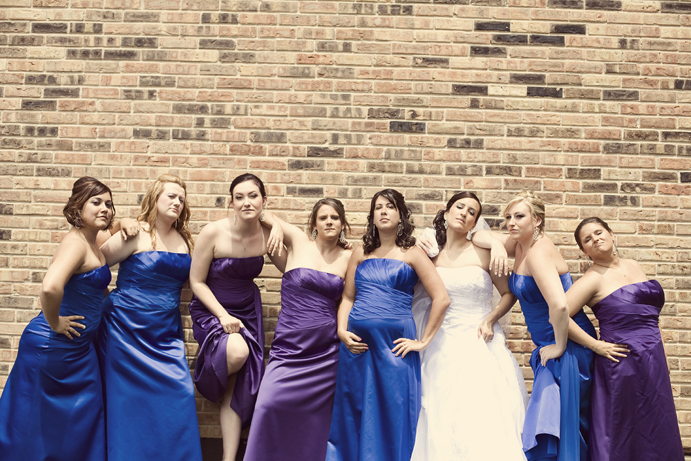 pregnant bridesmaid