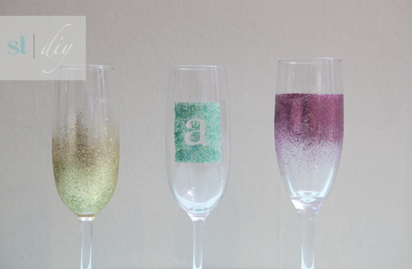 Diy wedding projects champagne flutes champagne glasses solutioingenieria Choice Image