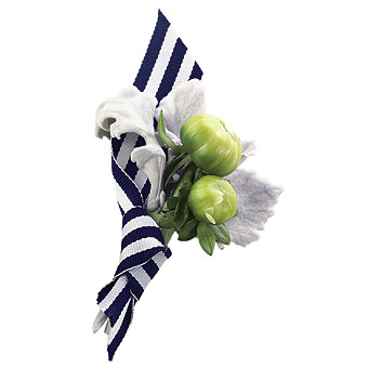 nautical wedding boutonniere
