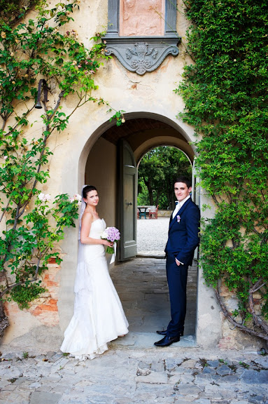 tuscany wedding portraits