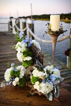 Beautiful chic nautical wedding inspiration pin it junglespirit Gallery