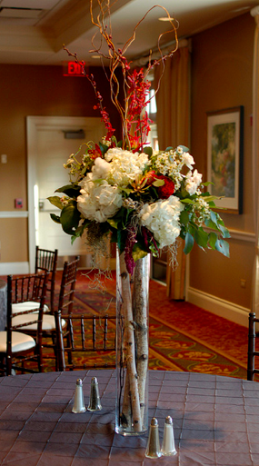 birch tree wedding centerpieces