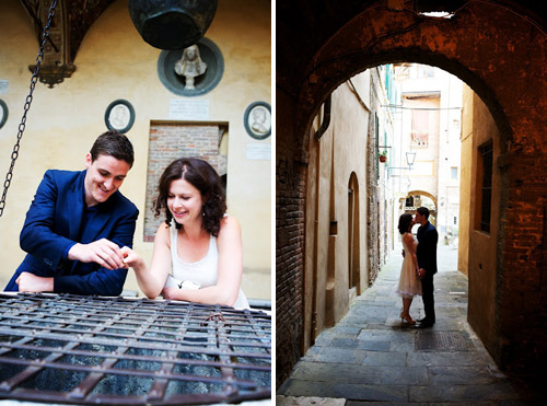 italy engagement shoot