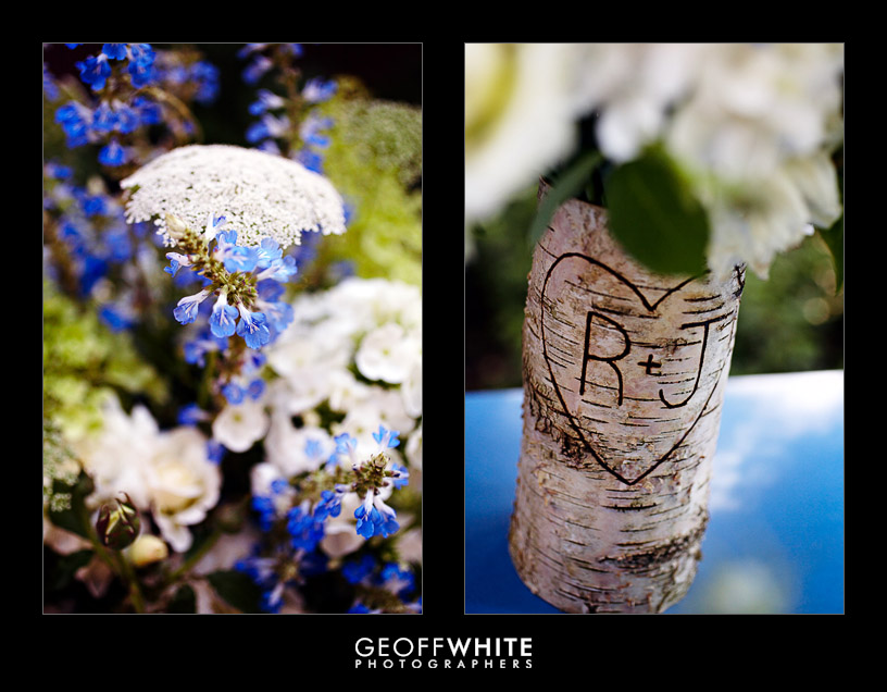 birch tree wedding details