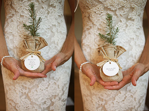 cute plant wedding favors