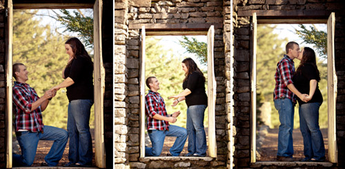 surprise wedding proposal photography