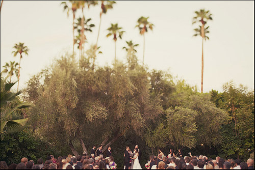 parker palm springs wedding ceremony