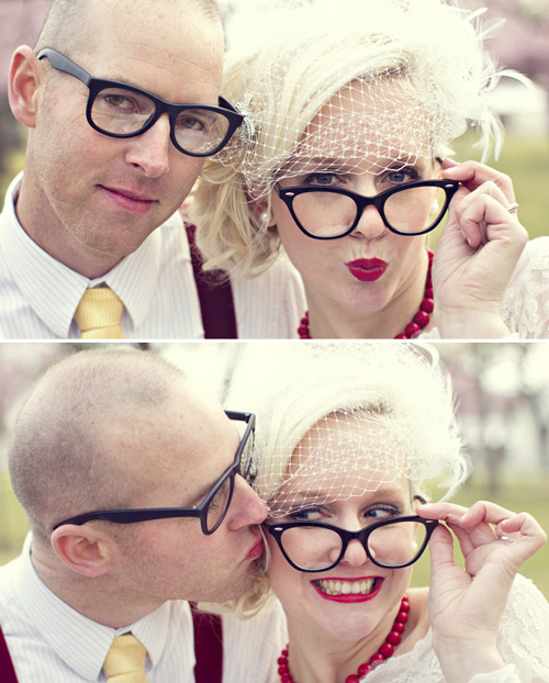 offbeat wedding shoot