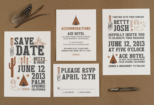 fun wedding invitation designs