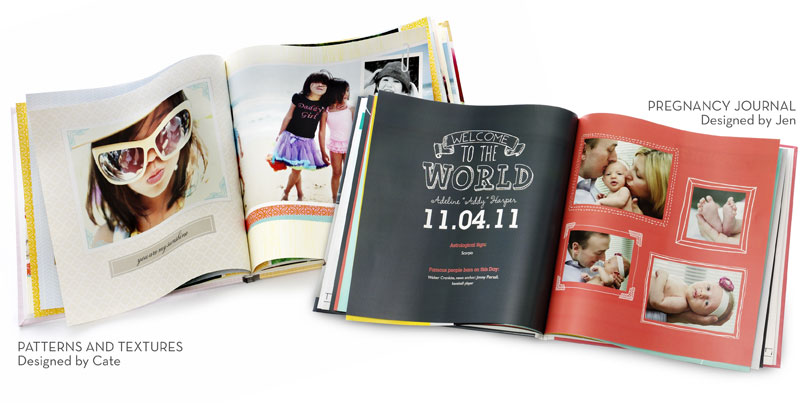 customizable photo books