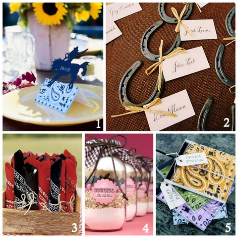 western theme bridal shower