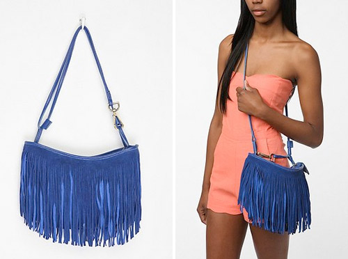 blue summer purse