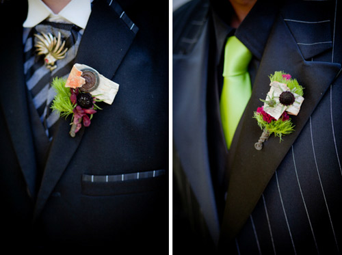 unique boutonnieres
