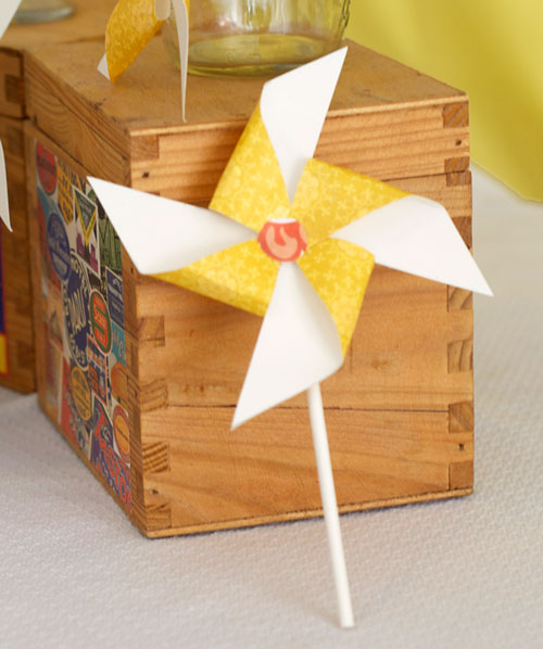 cute pinwheel tutorial