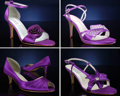 Genial Purple Wedding Shoes From BridalShoes.com