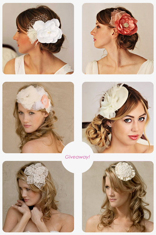 bridal hairpiece giveaway