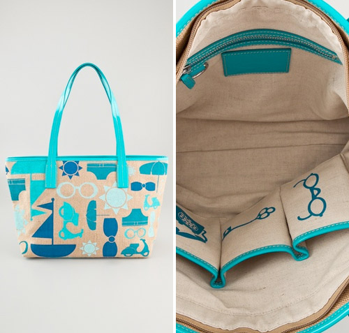 fun summer tote bag