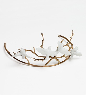 porcelain bridal jewelry