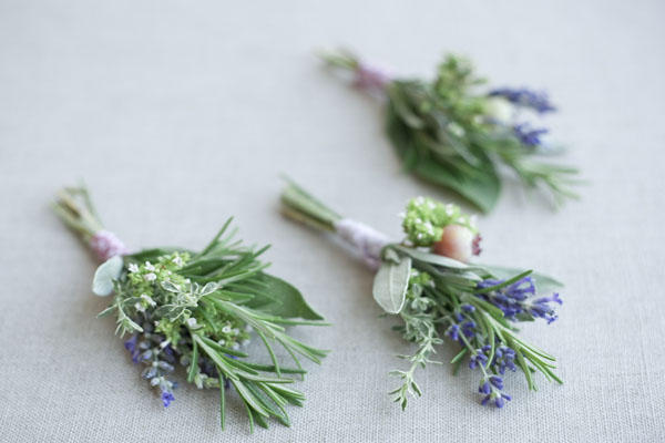 herb-wedding-boutonniere