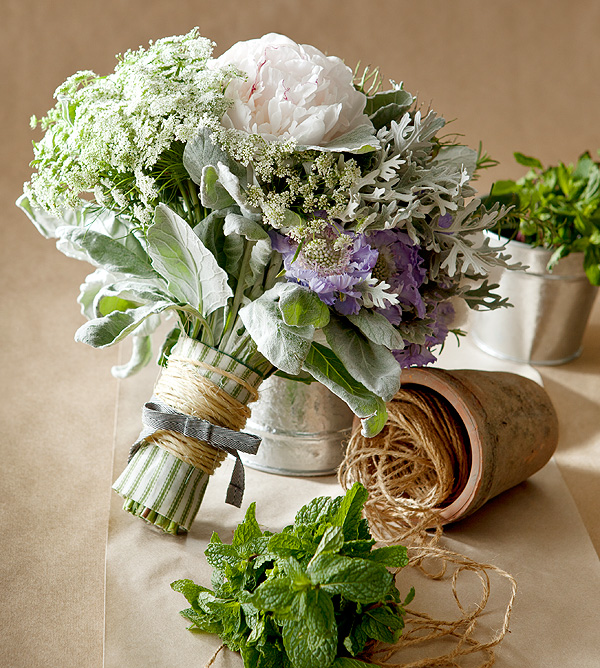 herb wedding details