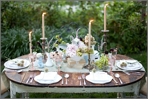garden-wedding tablescape