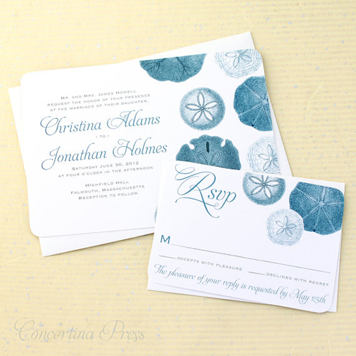 wedding invitations: beach theme inspiration,