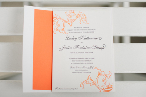 Wedding Etiquette: Invitation Invoices