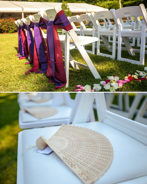 weddign chair decor