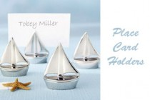Sailboat placecard holders