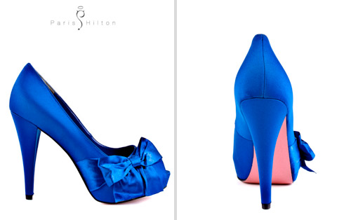 Something Blue Wedding Shoes: Sapphire