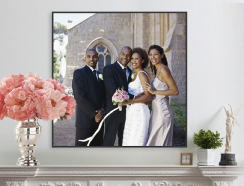 canvas wedding print giveaway