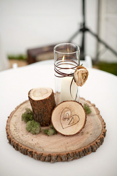 Alternative ideas for wedding centerpieces