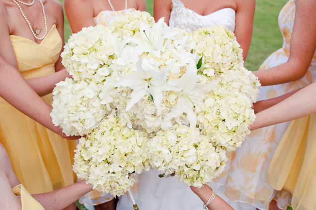 Pale Yellow Wedding Bouquets
