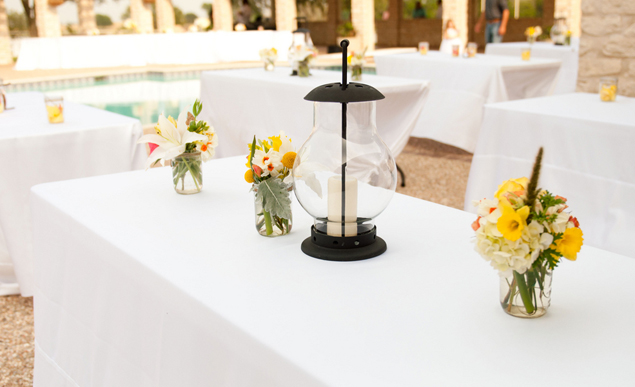 Lantern Wedding Centerpieces
