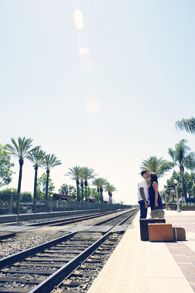 Train Station Engagement