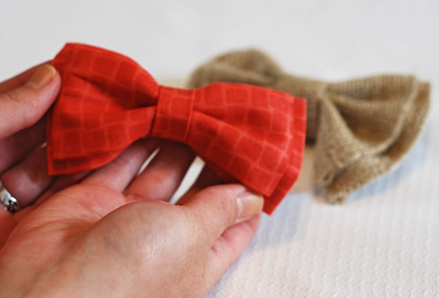 DIY Clip On Bow Ties
